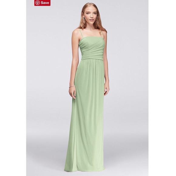 bb89c2670e8 David s Bridal Dresses   Skirts - Meadow green bridesmaid dress